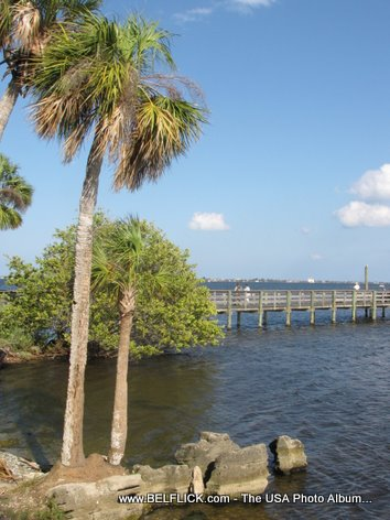 Castaway Point Park Pier, Palm Bay