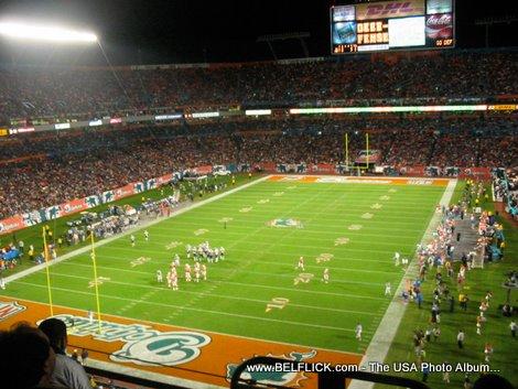 dolphin stadium event