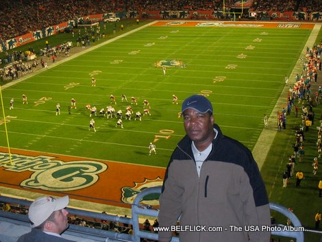 football game at dolphin stadium