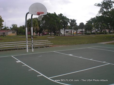 Fairway Park Basketball Court Miramar Florida