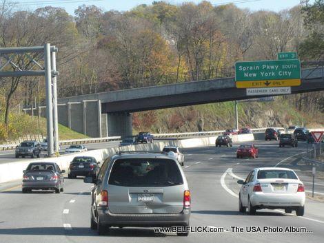 Sprain Pkwy New York City Exit NY State Thruway