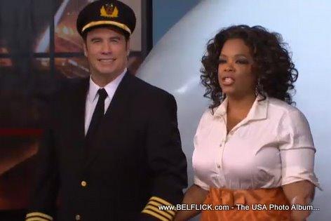 Oprah And Captain John Travolta