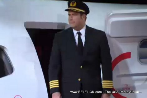Captain John Travolta Qantas Airways On Oprah