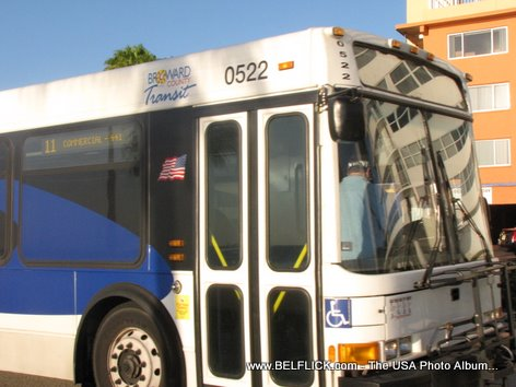 Broward Transit Bus Fort Lauderdale