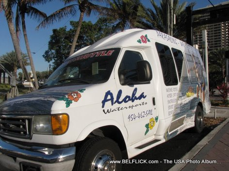 Aloha Watersports Shuttle