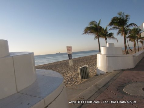 Las Olas Sandy Beach Fort Lauderdale Florida