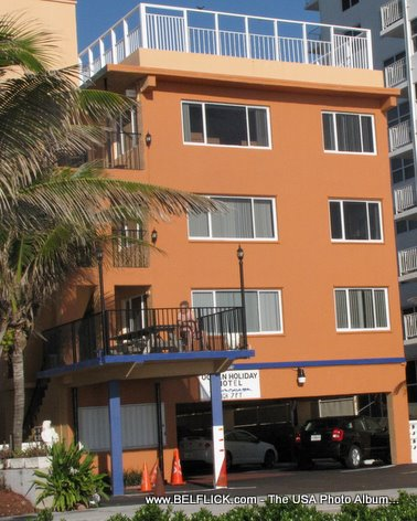 Ocean Holiday Motel Ft Lauderdale Florida