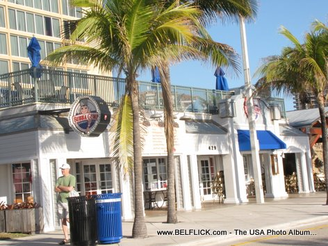 Bubba Gump Shrimp Co Theme Restaurant Fort Lauderdale Florida