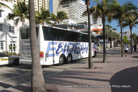 Las Olas Bus Public Transportation Fort Lauderdale Florida