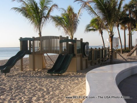 Playground At The Beach Fort Lauderdale