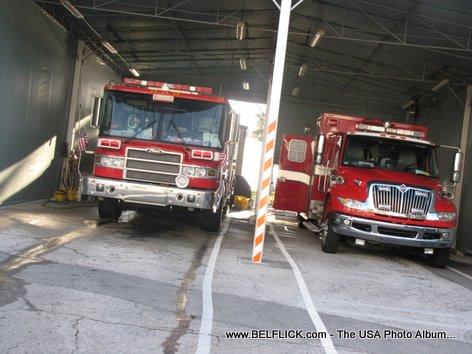 Las Olas Fire Station Firetrucks Fort Lauderdale Beach Florida