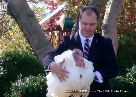 Thanksgiving 2010 Presidential Turkey Pardon