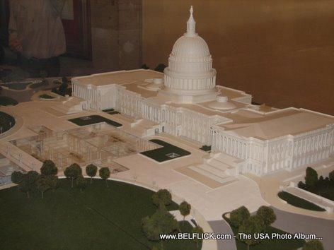 United States Capitol Building Miniature Replica