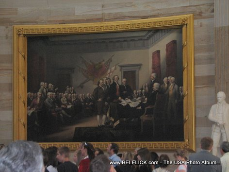 Paintings Declaration Of Independence By John Trumbull 1819