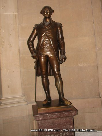 George Clinton Statue Inside The United States Capitol Building