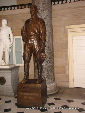 John Campbell Greenway Statue Inside The United States Capitol Building