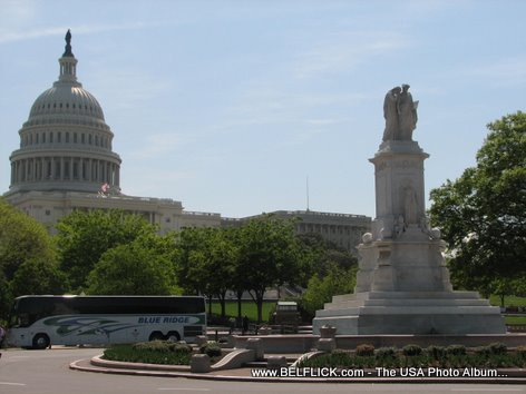Peace Monument United States Capitol