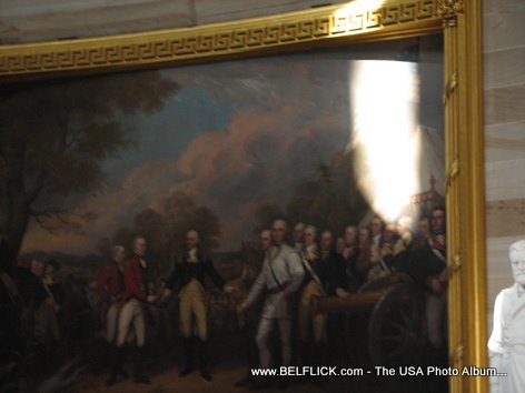 Paintings Inside The United States Capitol Building