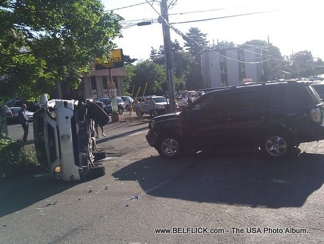 Car Accident on Hickory Street, Spring Valley, NY